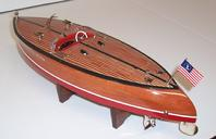 torpedo mahogany stancraft chriscraft garwood hacker craft classic boating water lake pond pool gift wallstreet mahogany wood toy boat collectible deco antique ito japan electric kmk tmy ito